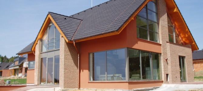 Családi ház építés Porotherm téglából
