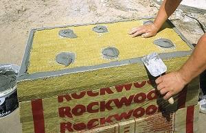 kétrétegű, vakolható kőzetgyapot