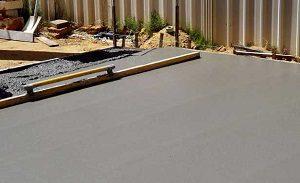 betonozás házilag