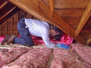 hőszigetelés a tetőtérben