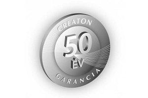 creaton 50 év garancia