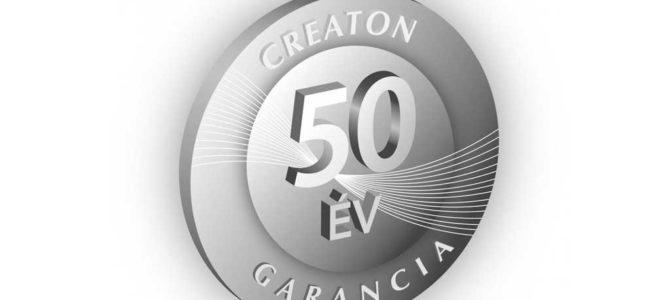 50 év garancia a Creaton kerámia cserepeire