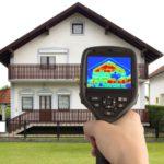 családi ház hőtérképes vizsgálata