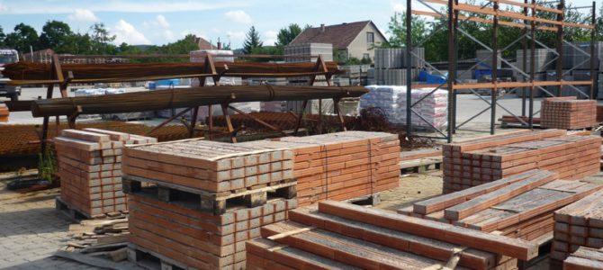 Építőanyag kereskedés 35 éves gyakorlattal Magyarország egész területén munkát vállal