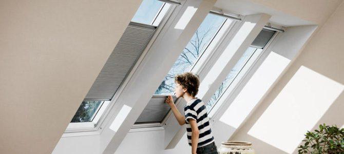 Fűtési energia megtakarítás tetőablak árnyékolóval