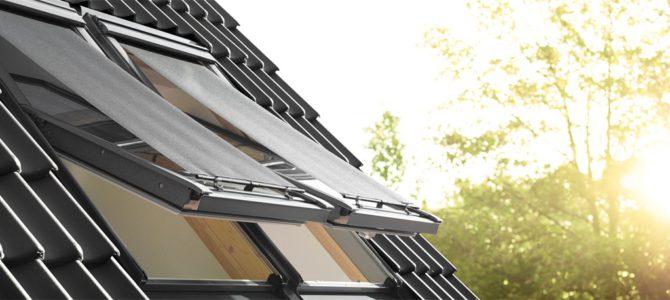 Velux hővédő roló a vakító napfény ellen