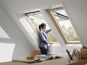 Velux tetősík ablak
