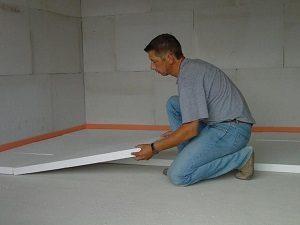 polisztirol padlószigetelés
