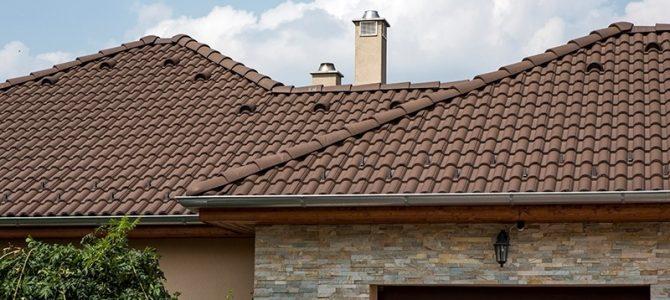 Leier Toscana betoncserép családi házára