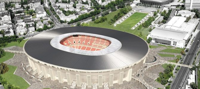 Az új Puskás Stadion építése